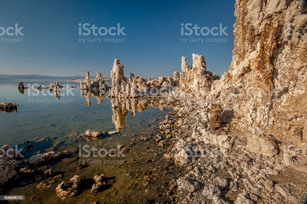 Tufas, Mono Lake stock photo