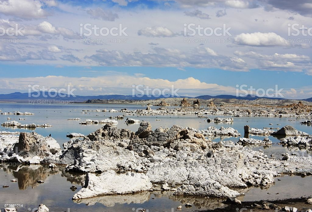 tuff rock formation stock photo