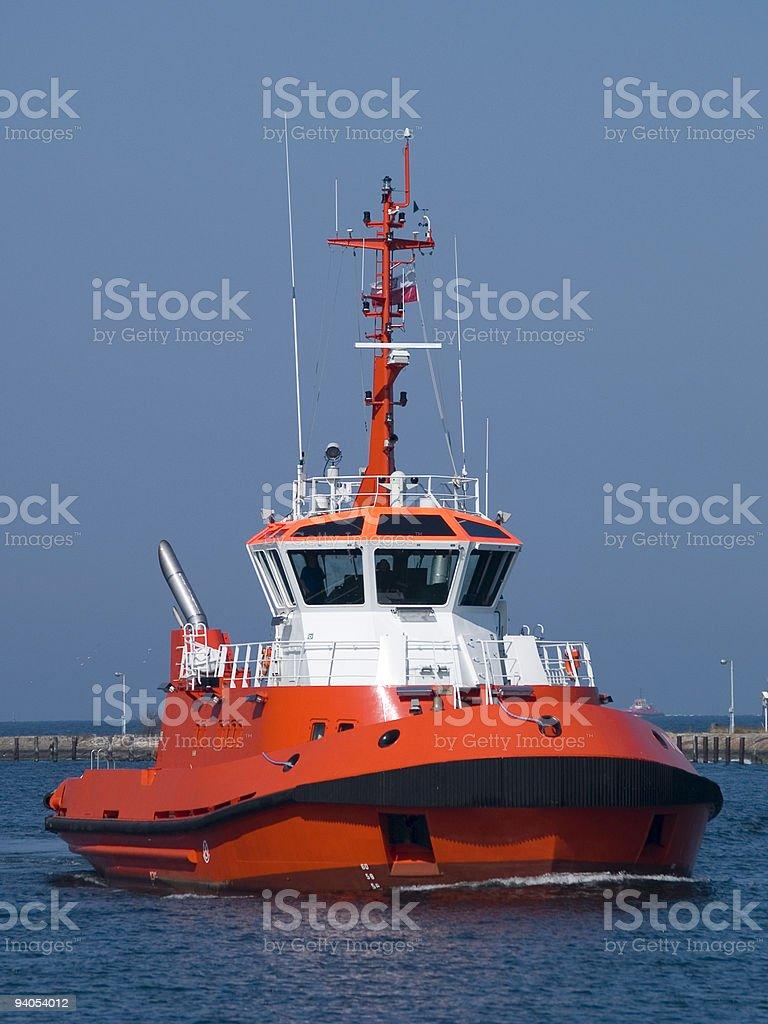 Tug Boat royalty-free stock photo