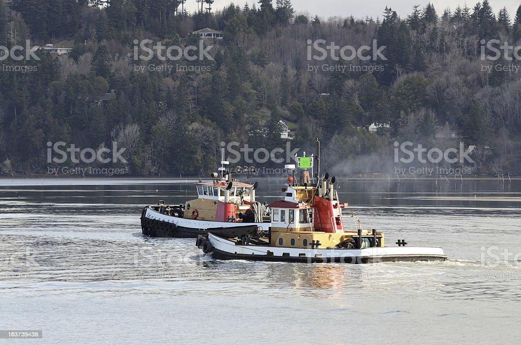 Tug Boats royalty-free stock photo