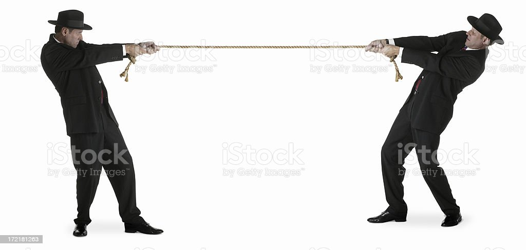 Tug of War royalty-free stock photo