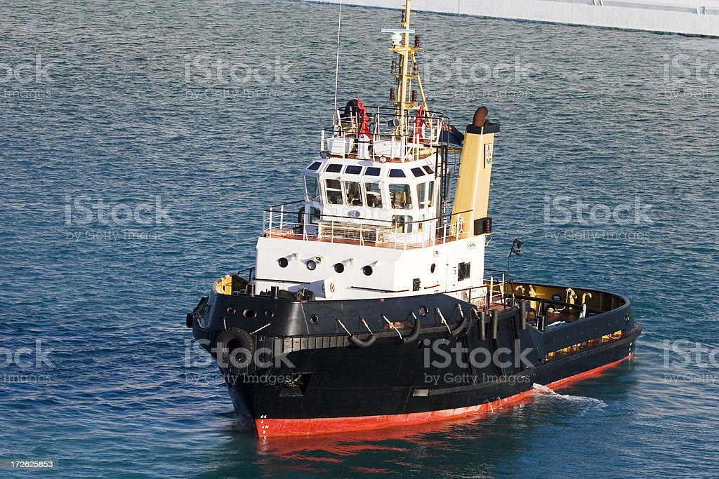 Tugboat in Hamilton Harbor - 1 royalty-free stock photo