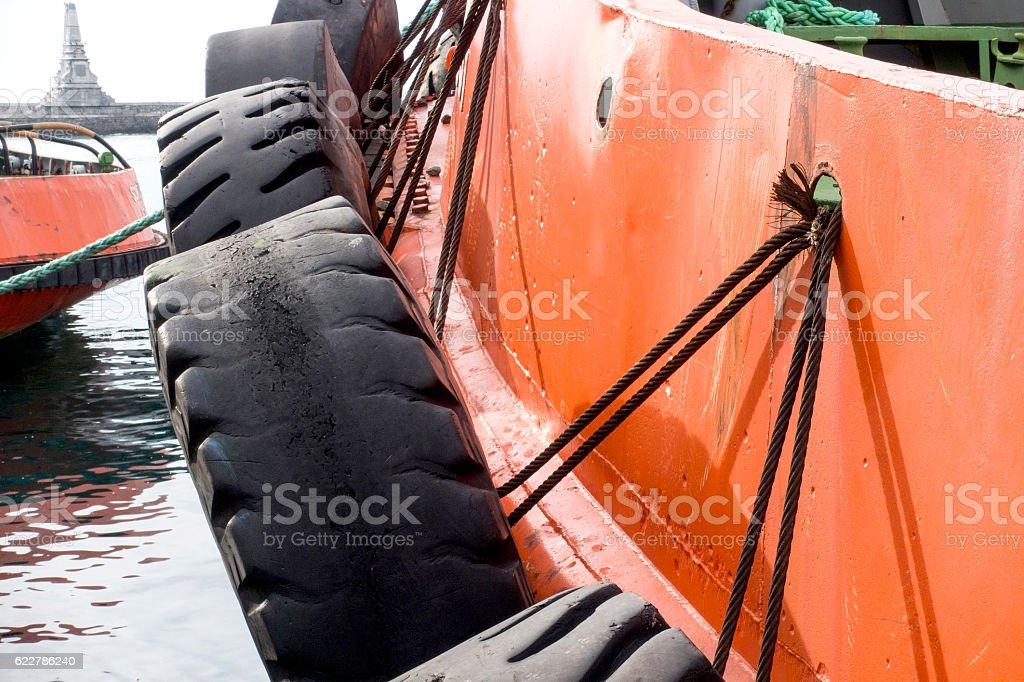 Tugboat stock photo