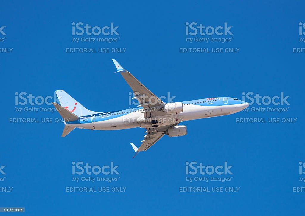 Tui Boeing 737-800 stock photo