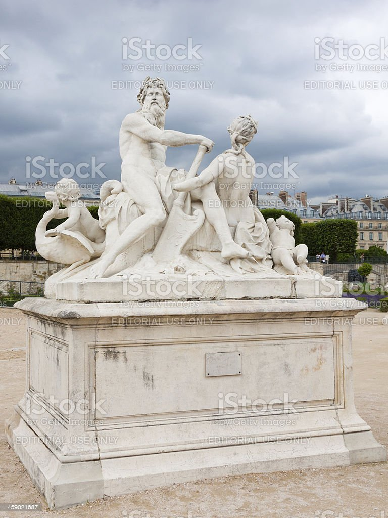 Tuileries Garden, Paris. royalty-free stock photo