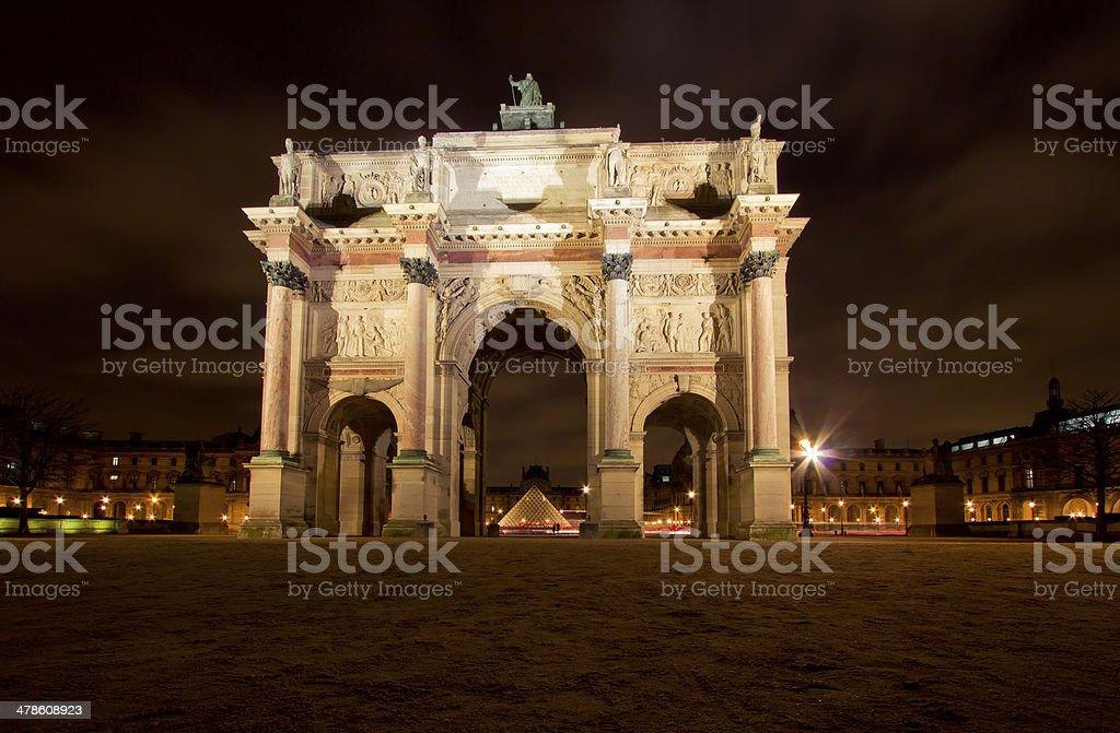 Tuileries stock photo