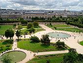 Tuileries's gardens