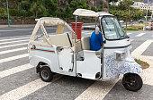 Tuk tuk classic retro excursion car