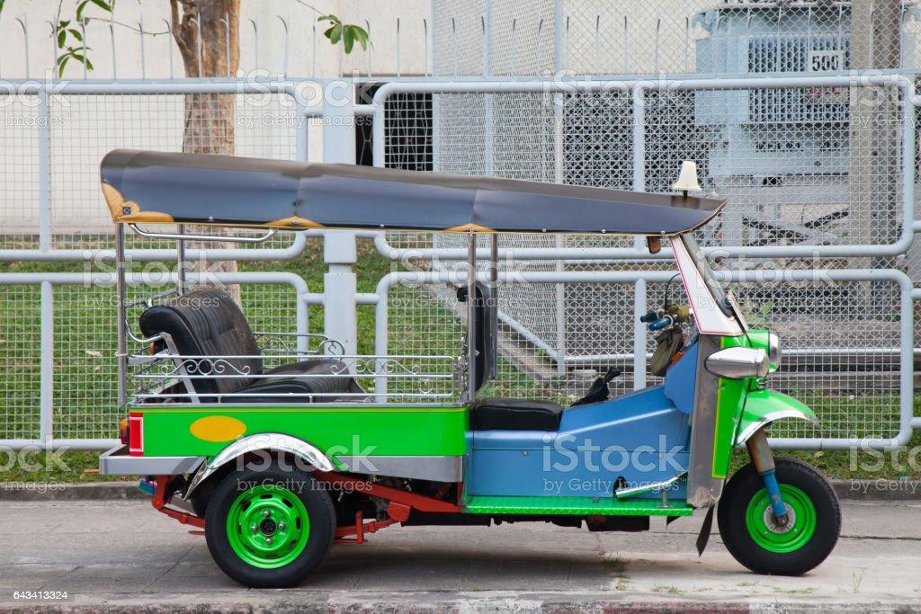 Tuk tuk from Thailand stock photo