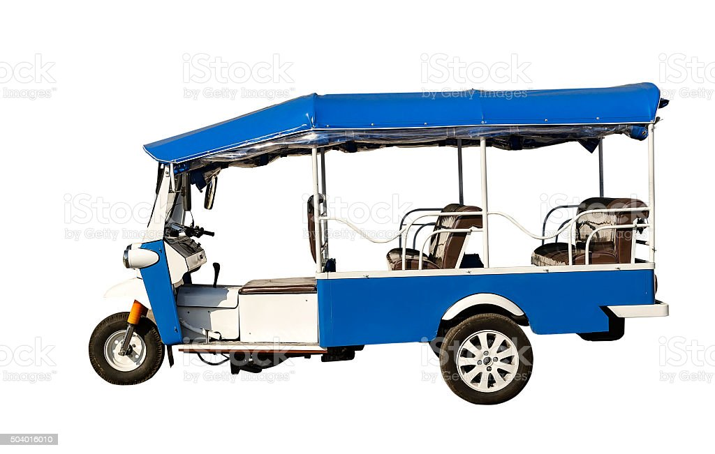 tuk tuk stock photo