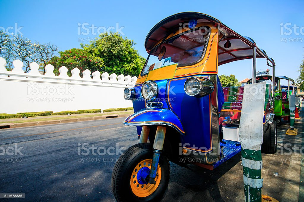Tuk- Tuk stock photo