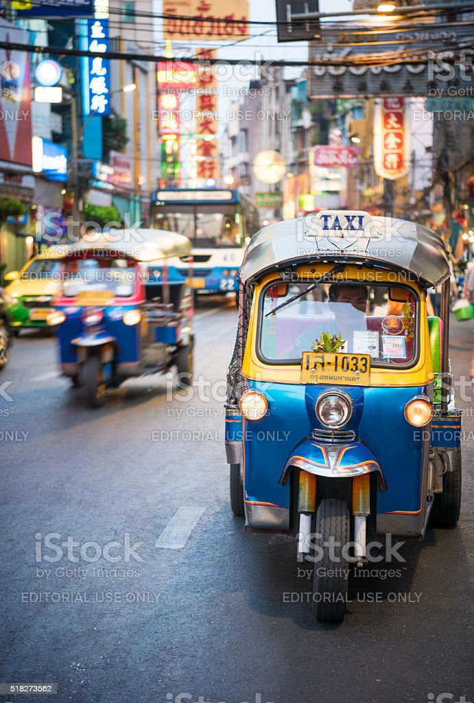 Tuk-Tuk, Bangkok stock photo