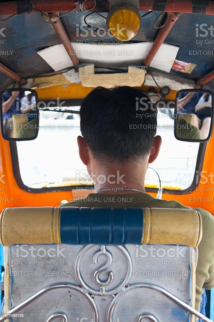 TukTuk Driver royalty-free stock photo
