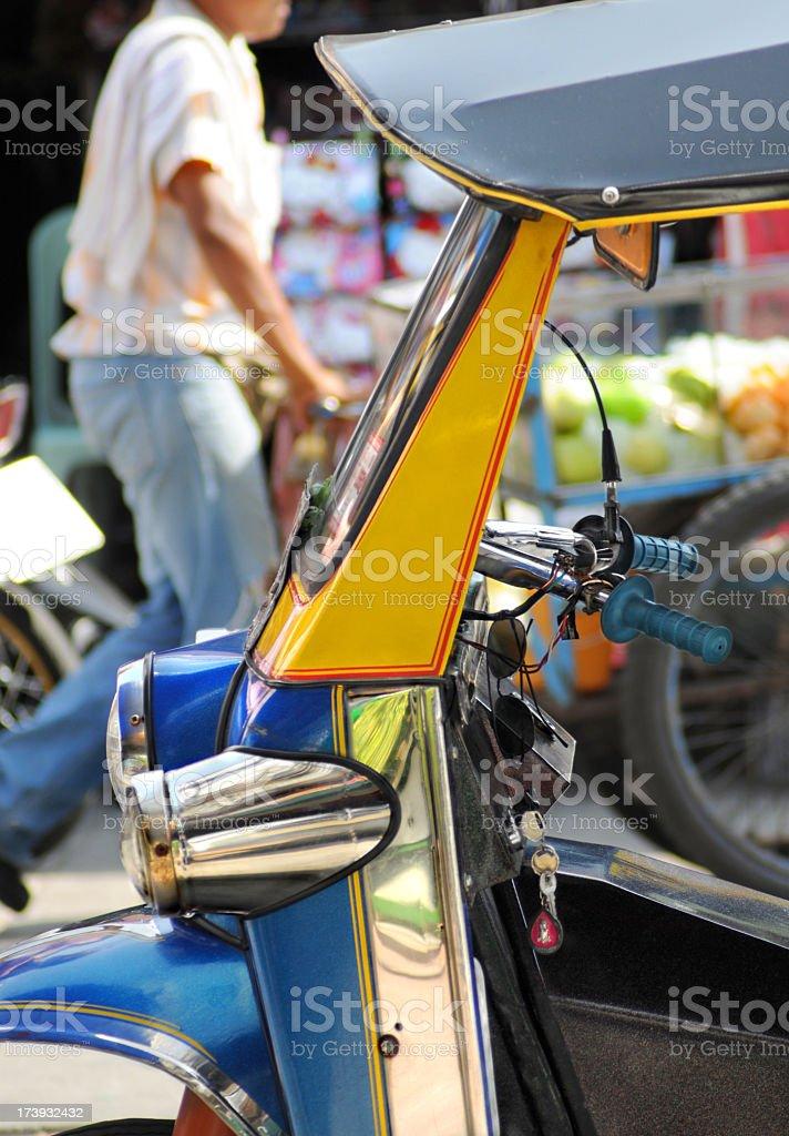 Tuktuk in Bangkok royalty-free stock photo