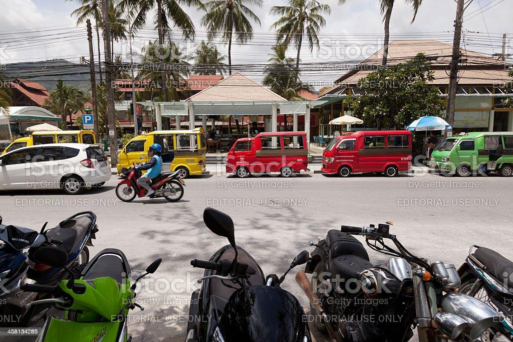 Tuk-Tuk in Patong Beach royalty-free stock photo