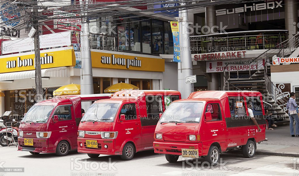 Tuk-Tuk in Patong town royalty-free stock photo