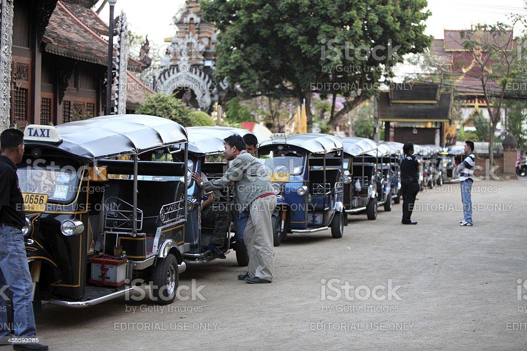 Tuk-tuk in Thailand royalty-free stock photo