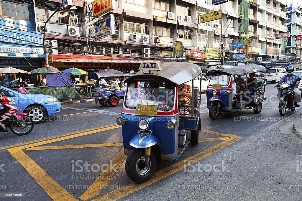 Tuktuk royalty-free stock photo