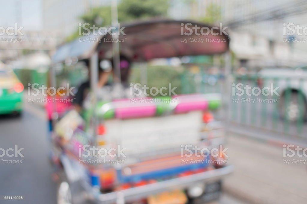 Tuk-tuk stock photo
