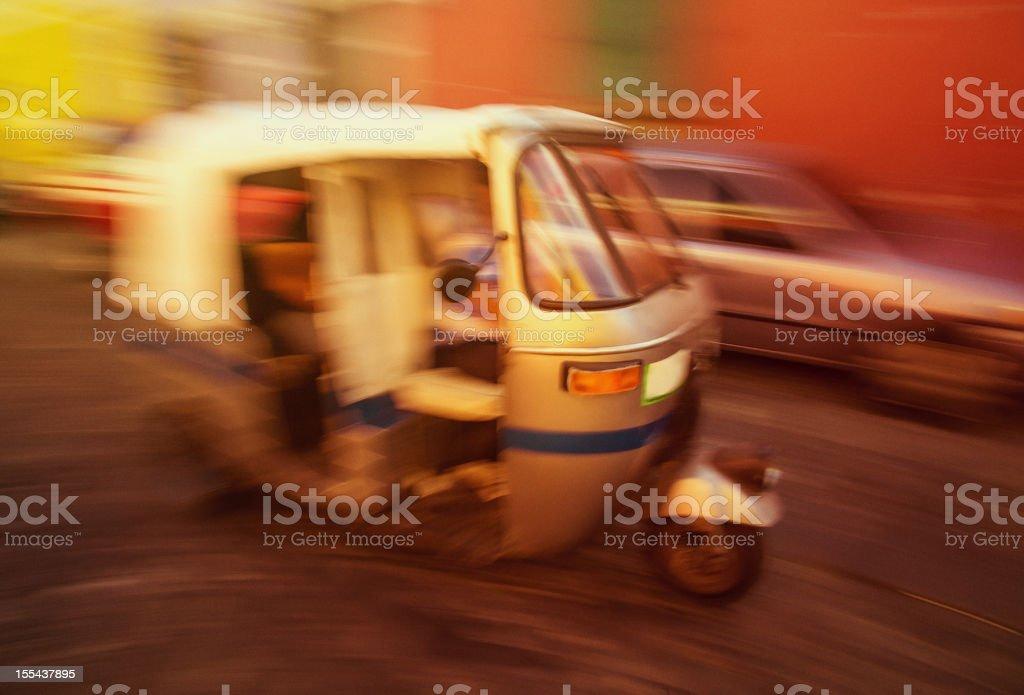 Tuk-Tuk taxi in Antigua Guatemala royalty-free stock photo