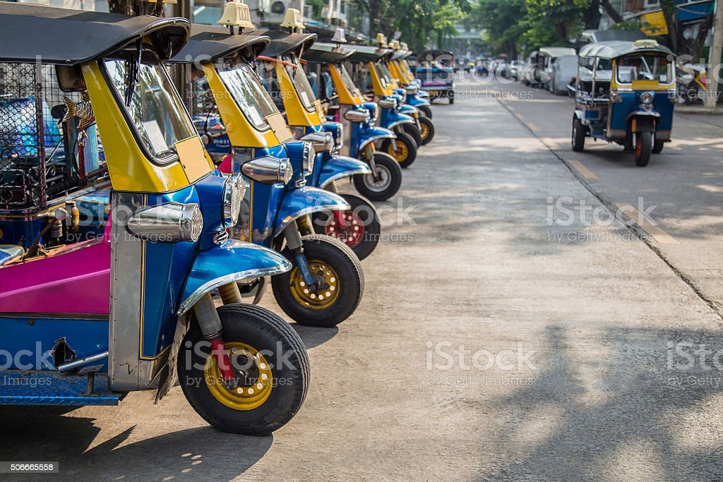 tuk-tuk taxi stock photo