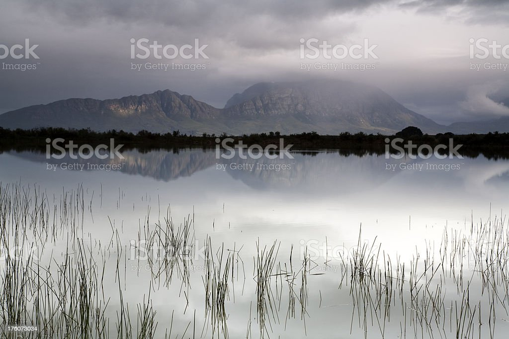 Tulbagh Reflections stock photo