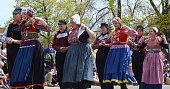 Tulip Time Festival dancers