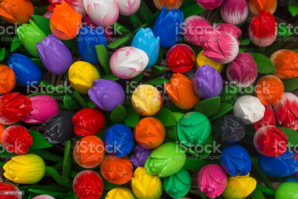Tulips from Amsterdam stock photo