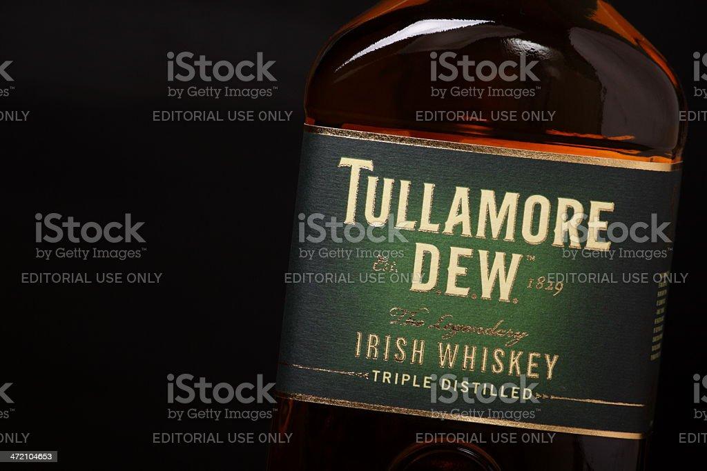 Tullamore Dew Irish Whiskey royalty-free stock photo