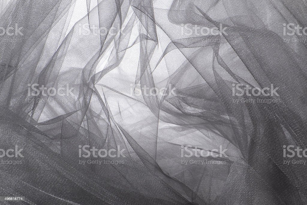 Tulle Fabric Background and Textures stock photo