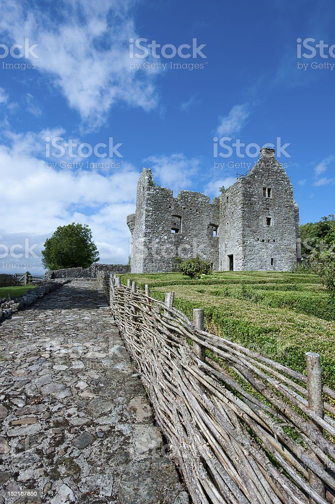 Tully Castle, Co Fermanagh stock photo