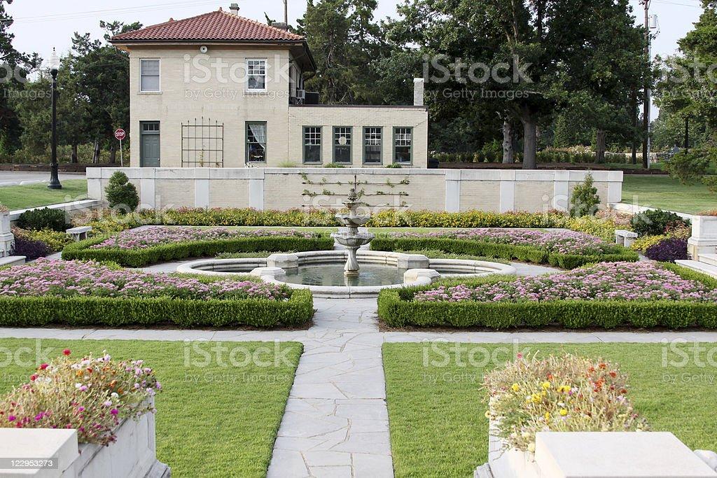 Tulsa Garden Center royalty-free stock photo