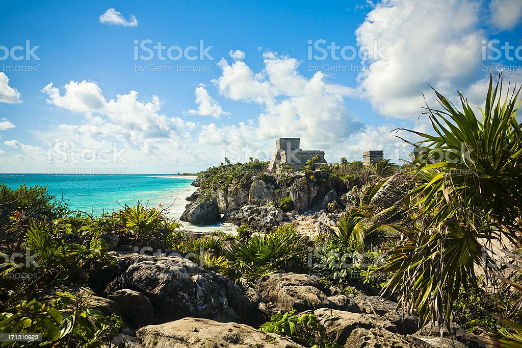 Tulum, Mexico stock photo