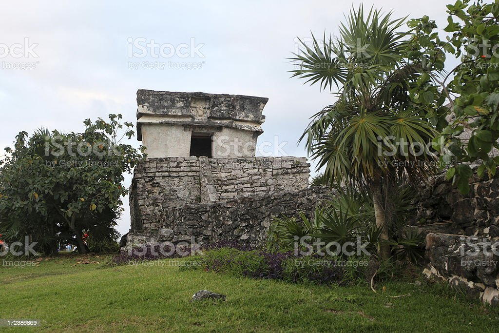 Tulum royalty-free stock photo