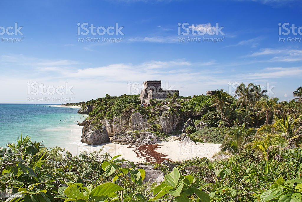 Tulum stock photo
