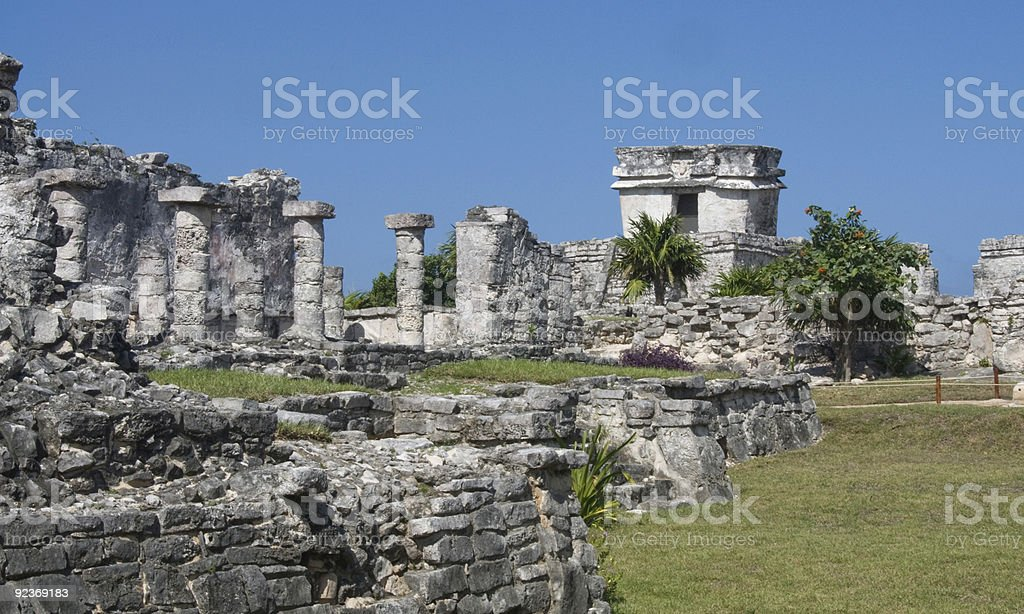 Tulum stock photo