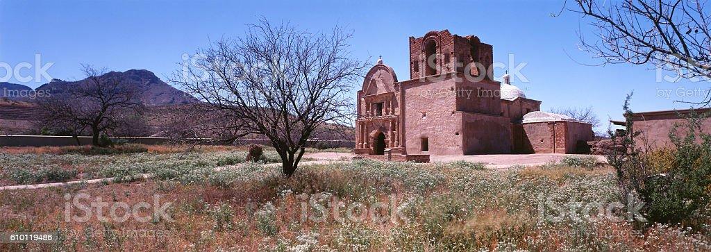 Tumacacori Mission National Historic Park, Arizona stock photo