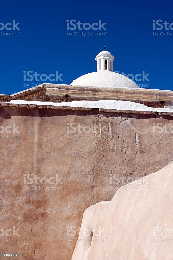 Tumacacori Mission stock photo
