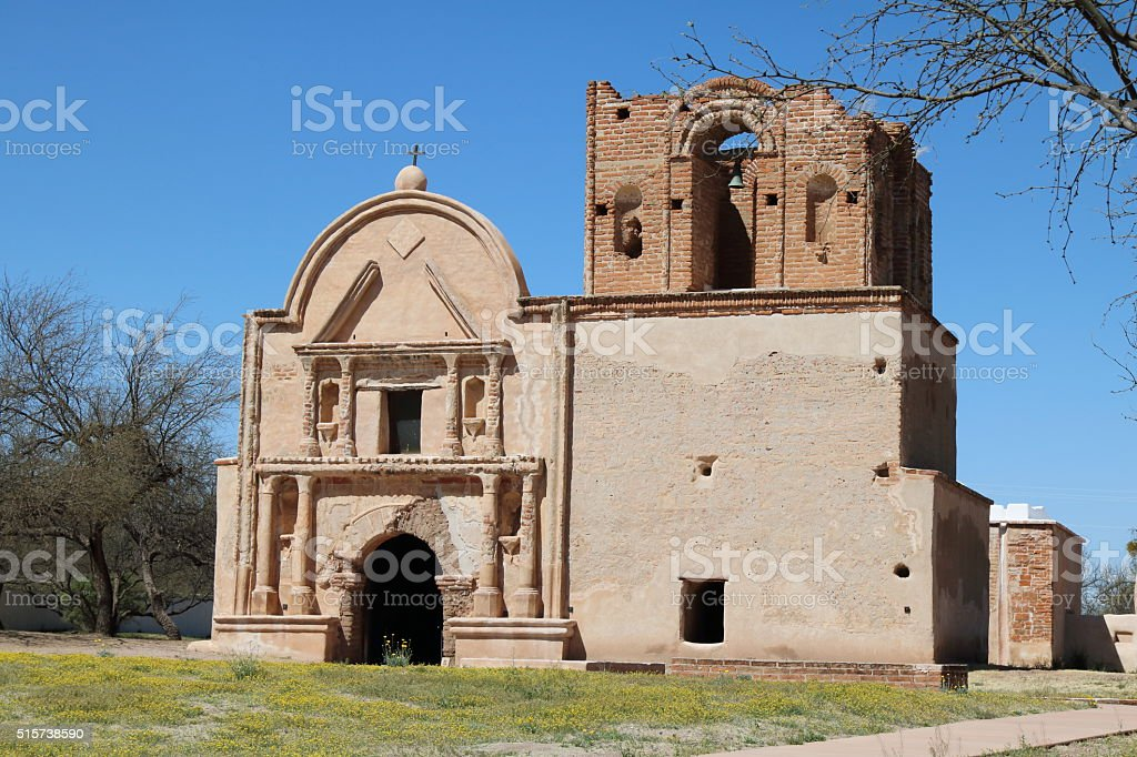 Tumacacori National Monument stock photo
