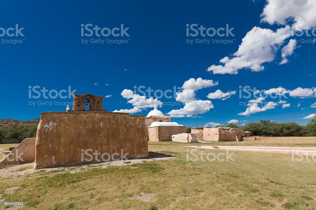 Tumacacori stock photo