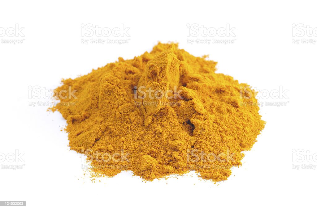 Tumeric Heap royalty-free stock photo
