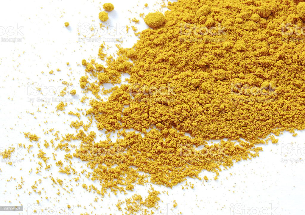 Tumeric Powder royalty-free stock photo