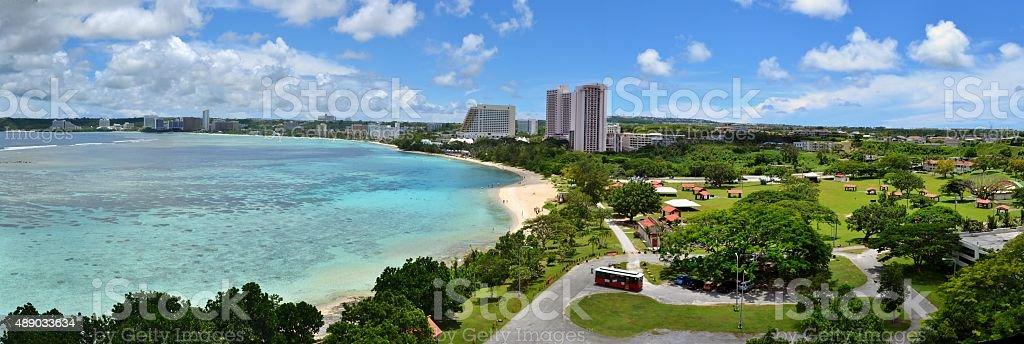 Tumon Bay, Guam stock photo