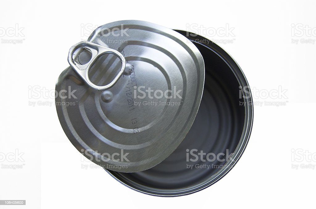 tuna can royalty-free stock photo