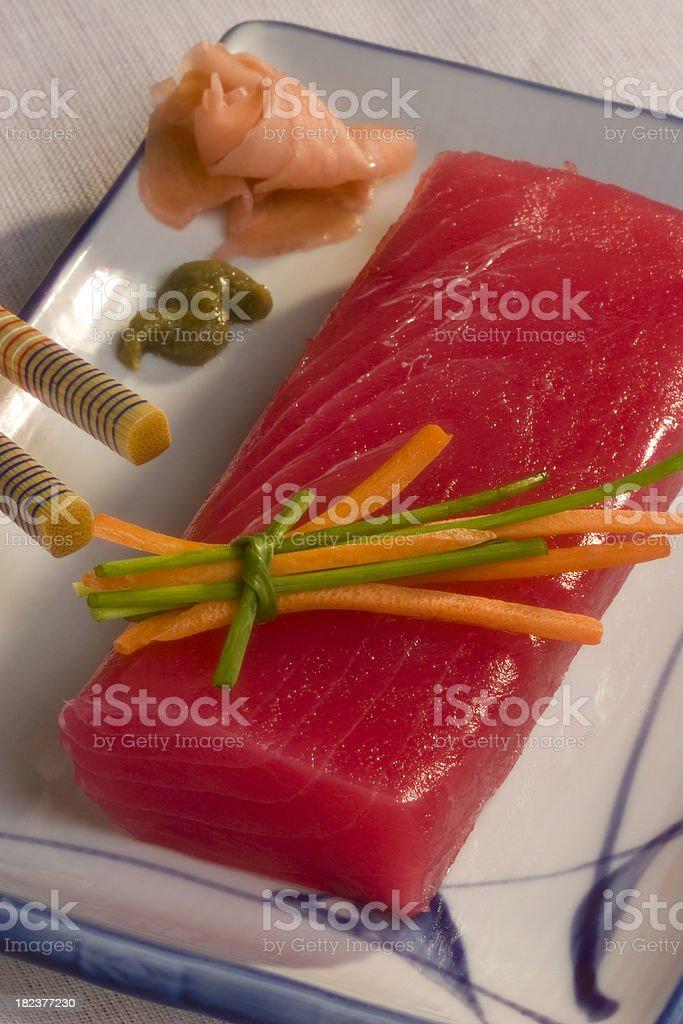 Tuna fillet royalty-free stock photo