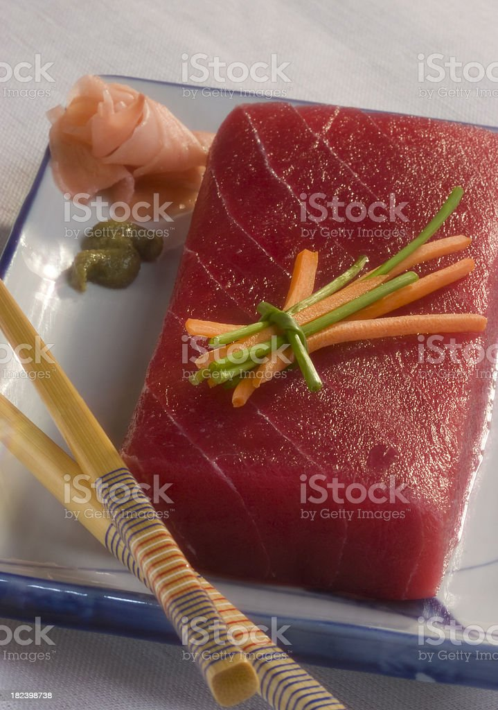Tuna fillet royalty-free stock photo