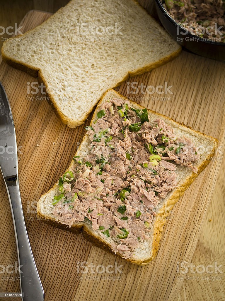 tuna mayo royalty-free stock photo