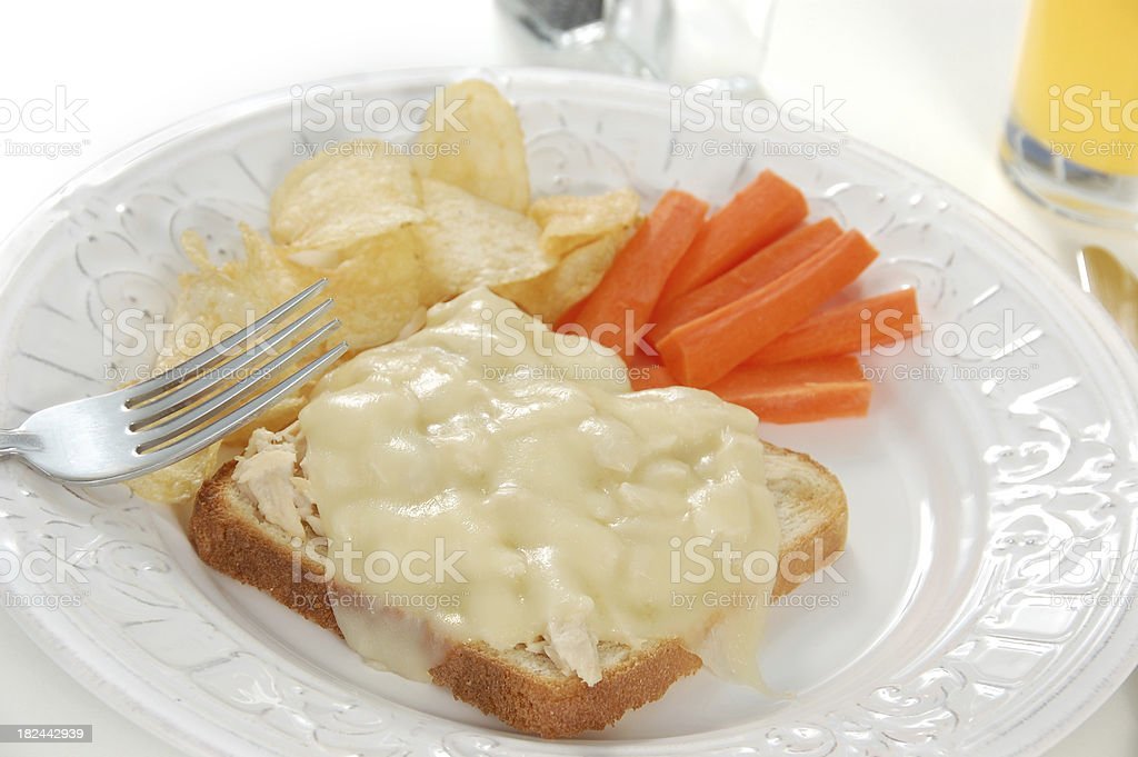 Tuna Melt royalty-free stock photo