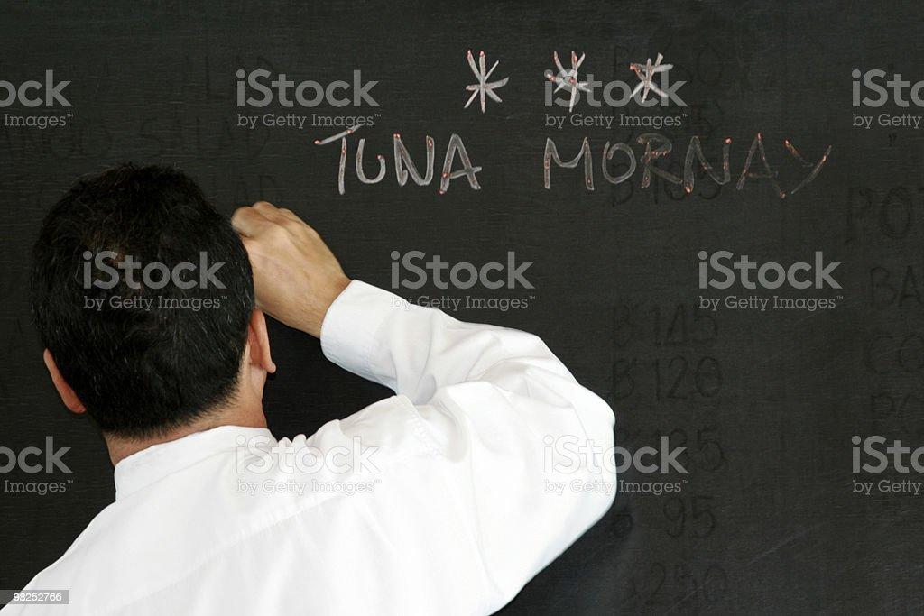 Tuna Mornay royalty-free stock photo