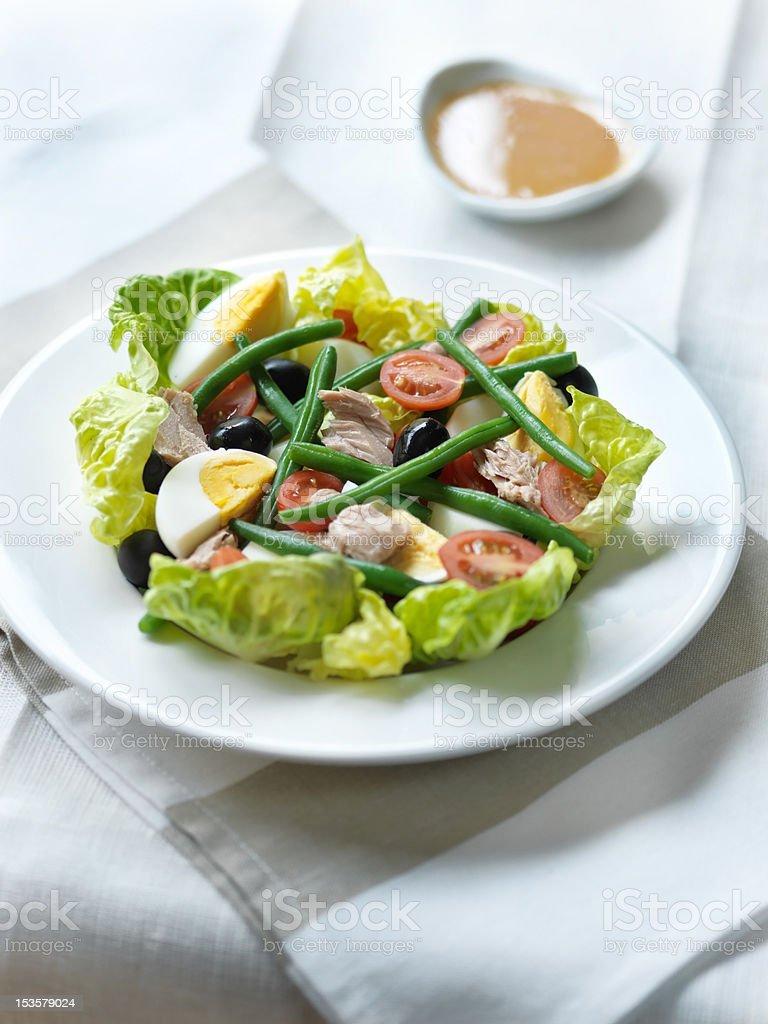 Tuna Nicoise Salad stock photo
